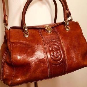 """""""Marino Orlandi"""" Leather Bag"""